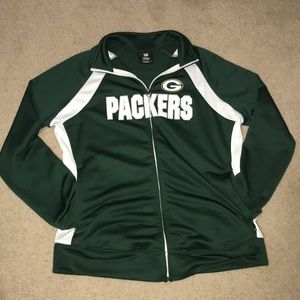 Packers full zip jacket